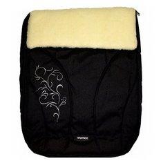 Конверт-мешок Womar Snowflake в коляску 95 см 12 черный