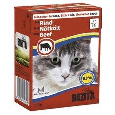 Корм для кошек Bozita с говядиной 370 г (кусочки в соусе)