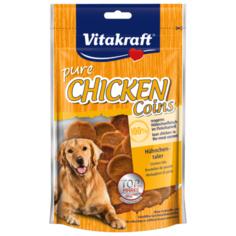 Лакомство для собак Vitakraft CHICKEN Coins Медальоны куриные, 80 г