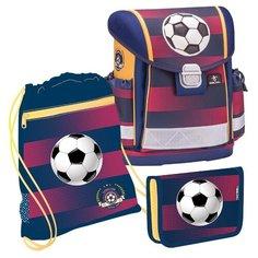 Belmil Ранец Classy Football Club с наполнением (403-13/638/SET), красный/синий