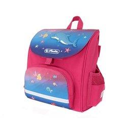 Herlitz Ранец Mini softbag Little Dolphin, розовый/синий