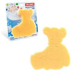 Коврик для ванной Valiant Медвежонок желтый