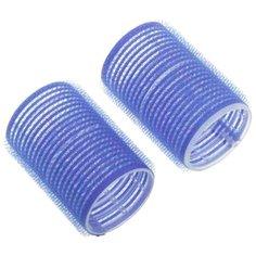 Бигуди-липучки DEWAL DBL40 (40 мм) 10 шт. синий