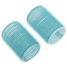 Бигуди-липучки DEWAL DBL28 (28 мм) 10 шт. голубой