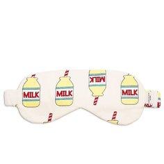 Маска для сна Сozy&Cute Home Молоко, желтый