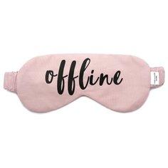 Маска для сна Сozy&Cute Home Offline, розовый