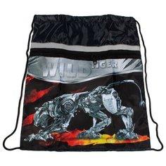 Prof-Press мешок для обуви Механический кот (МО-2063) черный Проф Пресс