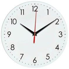 Часы настенные кварцевые Идеал 927-1 белый Ideal