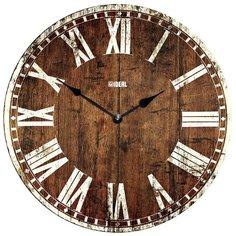 Часы настенные кварцевые Идеал Винтаж mdr324-d420 темно-коричневый Ideal