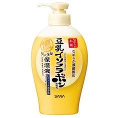 Молочко для тела SANA увлажняющее и подтягивающее с ретинолом и изофлавонами сои, бутылка, 230 мл