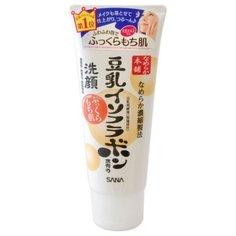 SANA пенка для умывания и снятия макияжа с изофлавонами сои, 150 г