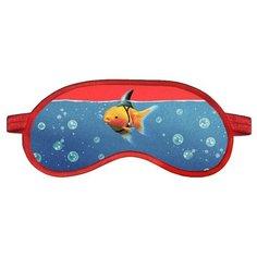 Маска для сна RATEL Animal, Goldfish with shark