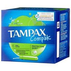 TAMPAX тампоны Compak Super 16 шт.