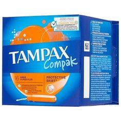 TAMPAX тампоны Compak Super Plus 16 шт.