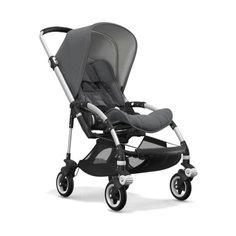 Прогулочная коляска Bugaboo Bee⁵ Alu/Grey melange/Grey melange, цвет шасси: серебристый