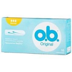 O.b. тампоны Original Normal 16 шт.