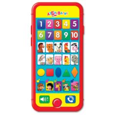 Интерактивная развивающая игрушка Азбукварик Умный смартфончик мультиколор