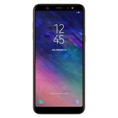 Смартфон Samsung Galaxy A6 32GB золотой (SM-A600FZDNSER)