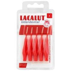 Зубной ершик Lacalut Interdental S, красный, 5 шт.