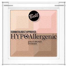 Bell Пудра с бронзирующим и осветляющим эффектом Hypo Hypoallergenic Multi Bronze Powder тон 02