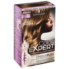 Schwarzkopf Color Expert Абсолютный уход Стойкая крем-краска для волос, 7.32, Бежевый темно-русый