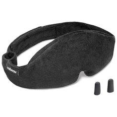 Маска для сна Cabeau Midnight Magic Sleep Mask, серый