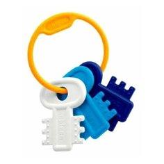 Прорезыватель-погремушка Chicco Ключи на кольце 6321 синий