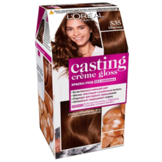 LOreal Paris Casting Creme Gloss стойкая краска-уход для волос, 535, Шоколад
