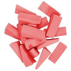 Набор спонжей Beautypedia Треугольники, 20 шт. розовый