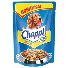 Влажный корм для собак Chappi курица 24шт. х 100г