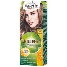 Palette Фитолиния Стойкая крем-краска для волос, 465 7-65 Золотистый средне-русый