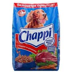 Сухой корм для собак Chappi говядина 2.5 кг