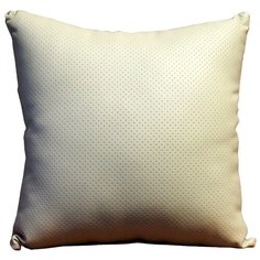 Подушка декоративная Тематика 30 х 30 см бежевый/черный
