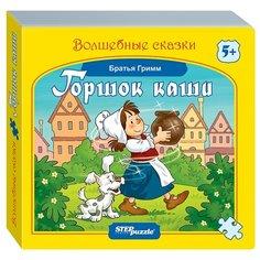 Step puzzle Книжка-игрушка Волшебные сказки. Горшок каши