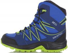 Ботинки утепленные для мальчиков Salomon Oki Winter, размер 32