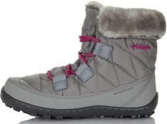 Ботинки утепленные для девочек Columbia Youth Minx, размер 31,5
