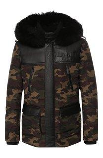 Утепленная куртка Philipp Plein