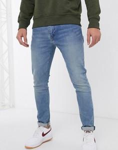 Суженные книзу джинсы рыжего цвета Levis 512-Синий Levis®