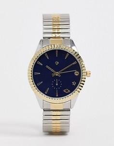 Женские часы-браслет с темно-синим циферблатом Spirit-Темно-синий