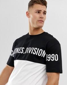 Свободная футболка с логотипом Jack & Jones Core-Белый