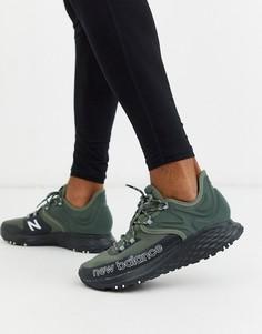 Зеленые кроссовки New Balance Fresh Foam Trail Roav-Зеленый