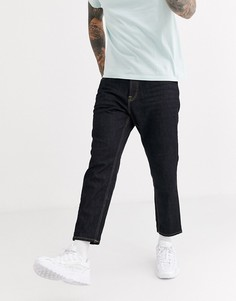 Темно-синие суженные книзу джинсы Only & Sons-Темно-синий