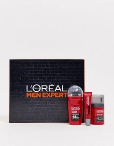 Набор увлажняющих и антивозрастных средств по уходу за кожей LOreal Men Expert-Бесцветный