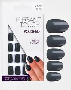 Накладные ногти Elegant Touch Polished Nails - Royal Collection-Розовый