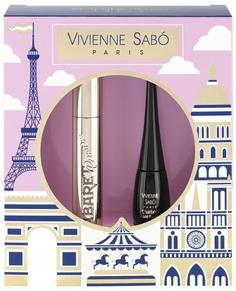 Vivienne Sabo Подарочный набор: тушь Cabaret premiere тон 01+подводка Charbon тон 01
