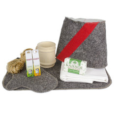 Набор аксессуаров для бани Командир + Minba пн020
