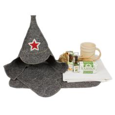 Набор аксессуаров для бани Защитник + Minba пн005