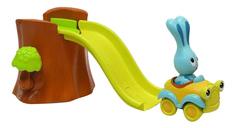 Бани - аквапарк, игровой набор для ванны горка+бани+аксессуары+крепление Ouaps 61036Ou