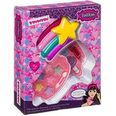 Набор детской декоративной косметики Bondibon Eva Moda. Косметичка-звездочка