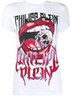 Philipp Plein футболка кроя слим Rock PP